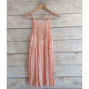NWT Kaitlyn Coral Knitted Sun Dress S